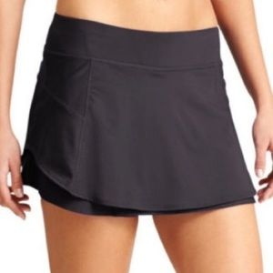 Athleta Bustle Skirt / Skort Black Sz M